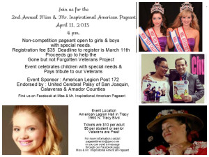 Inspirational Pageant Flyer 3